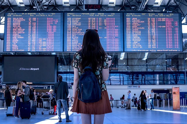 駅や空港で迷子になる